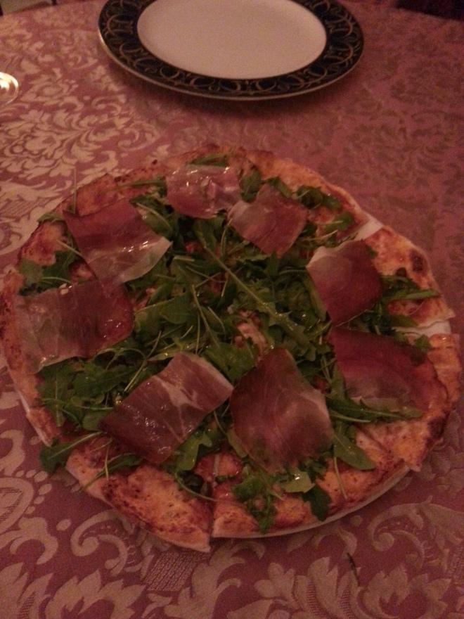 Pizza Al Crudo