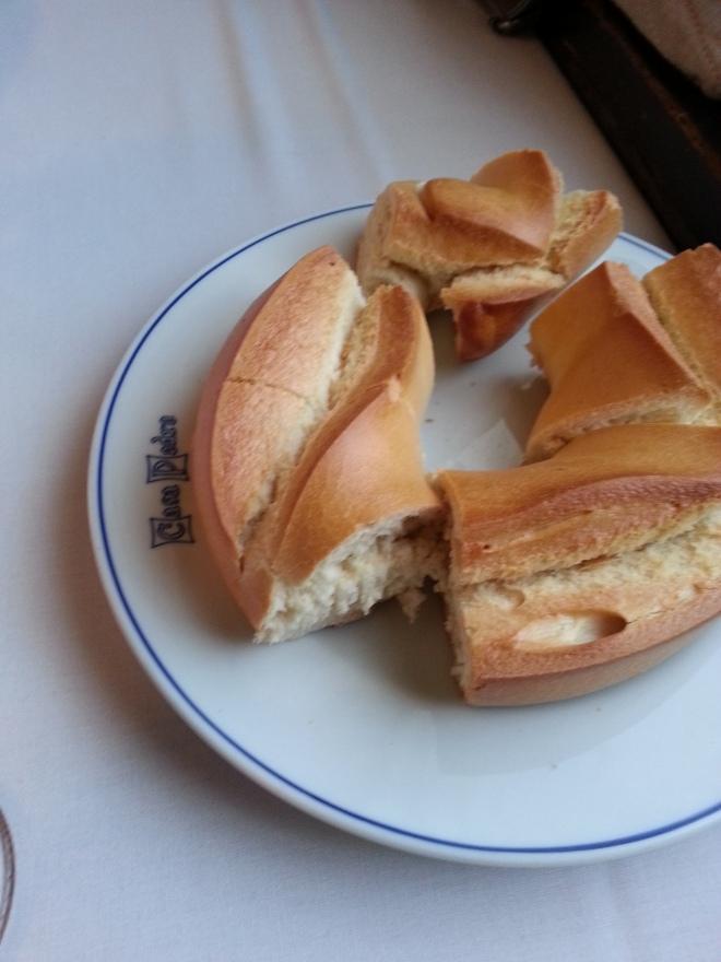 Roscaza de pan