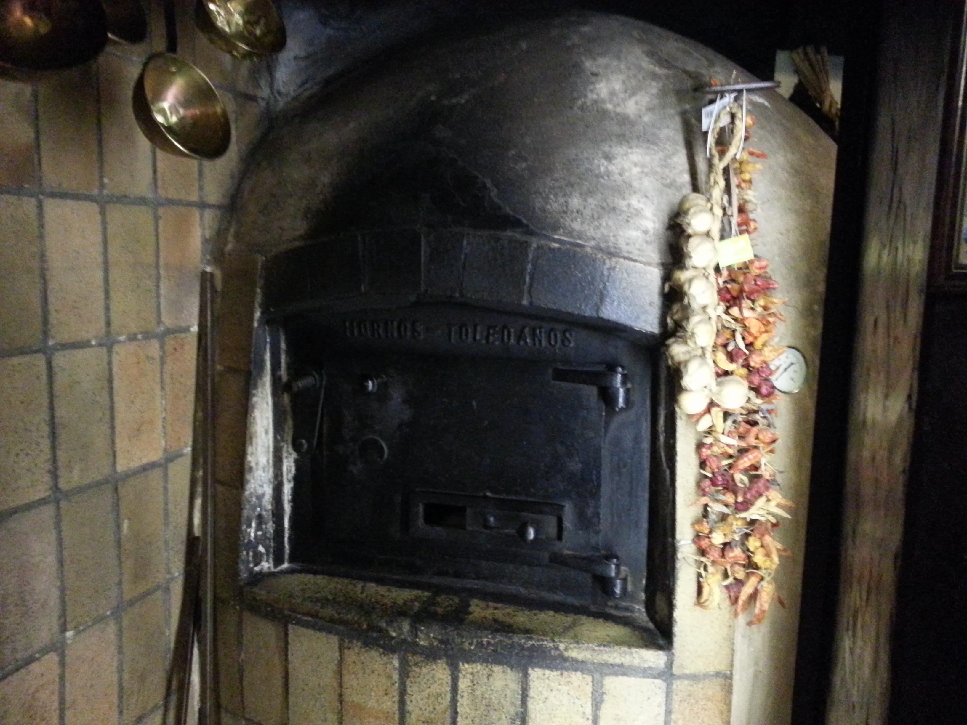 Horno antiguo en Casa Pedro