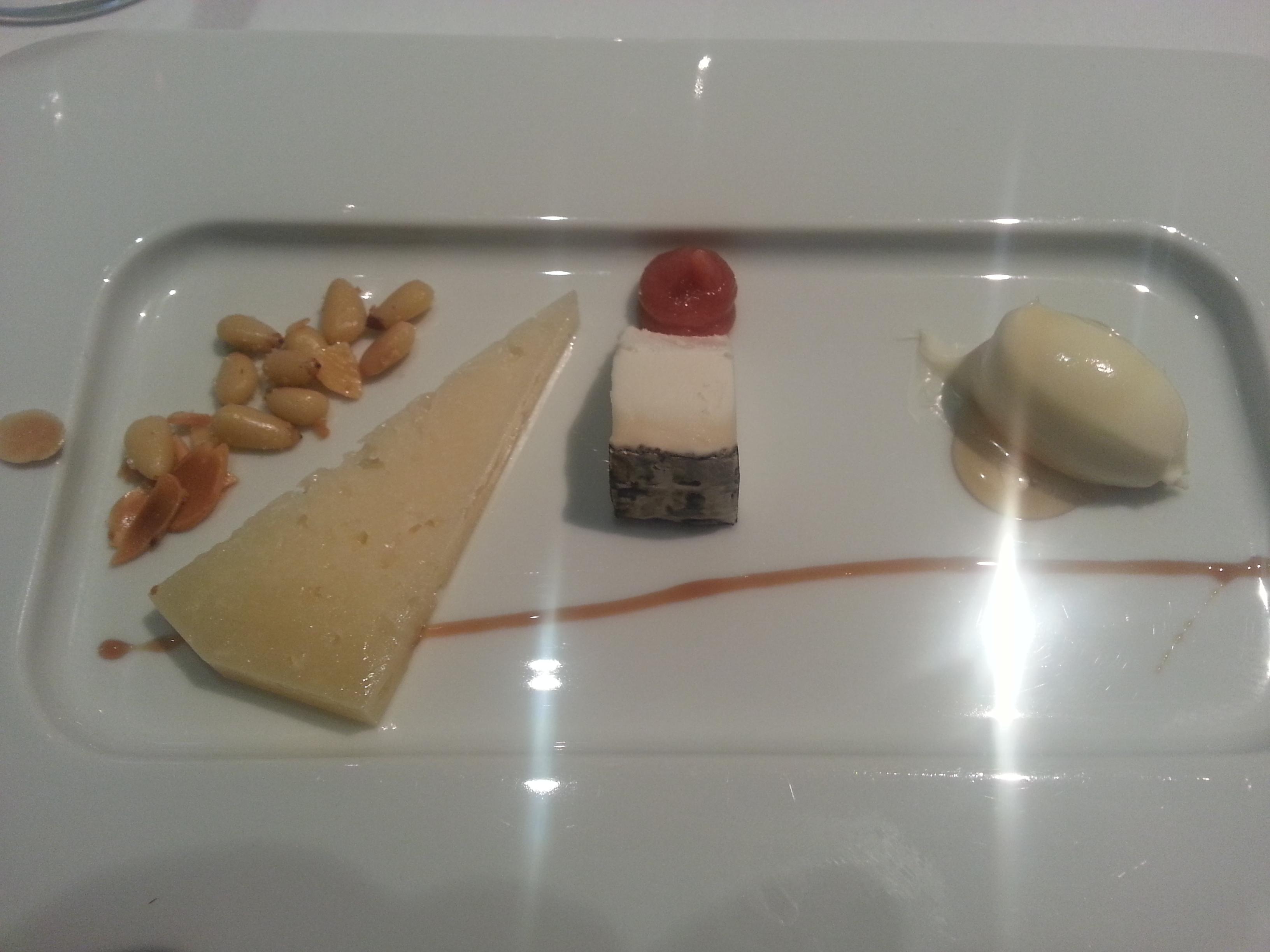 Camporeal, montenebro y crema de parmesano