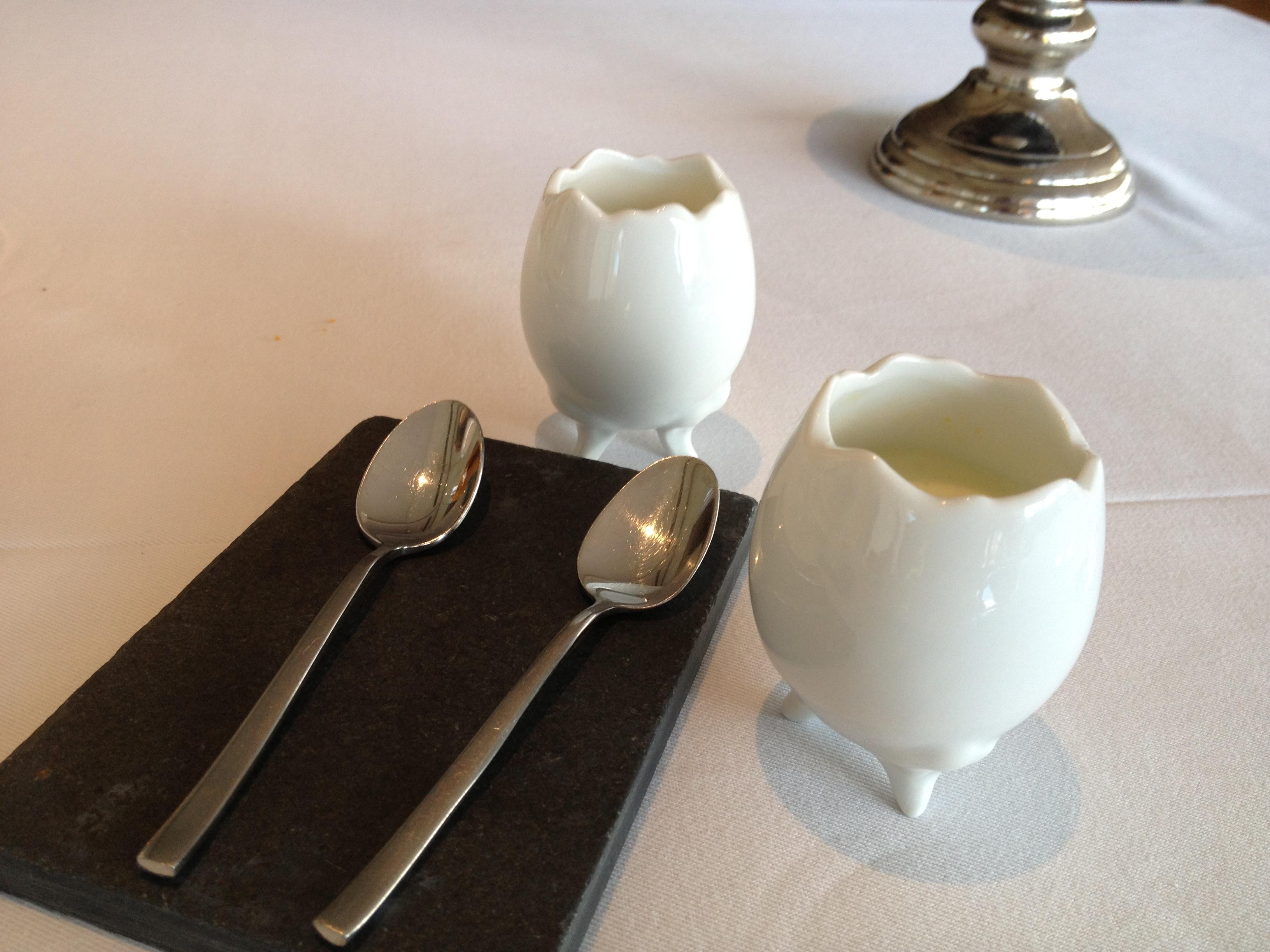 El huevo que no es