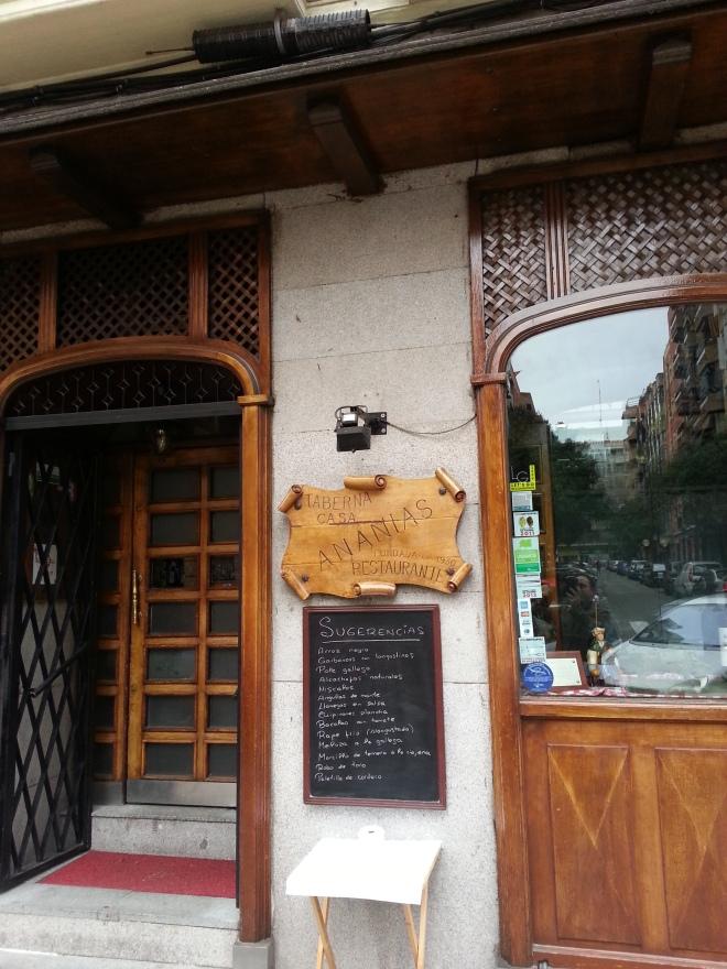 Fachada de Casa Ananías