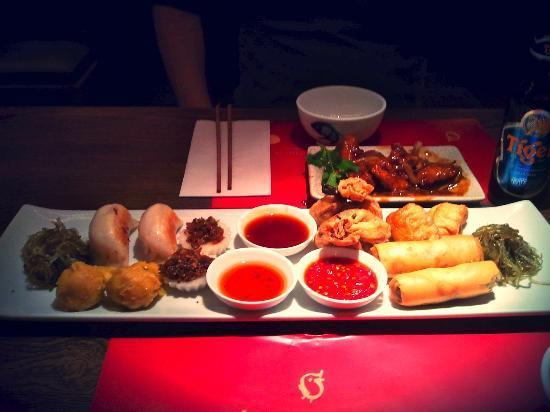 Cha Cha Moon platter