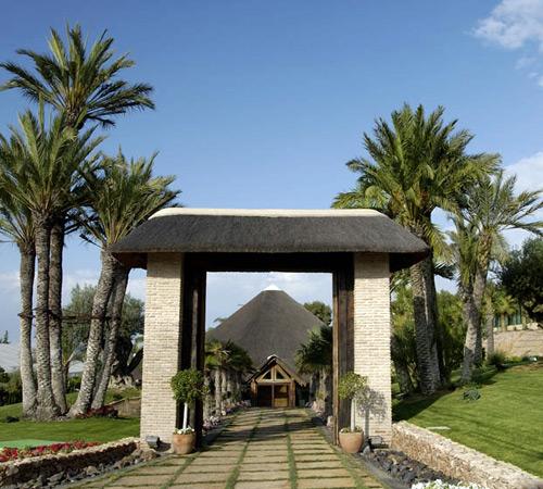Entrada a La Cabaña. Foto del establecimiento.