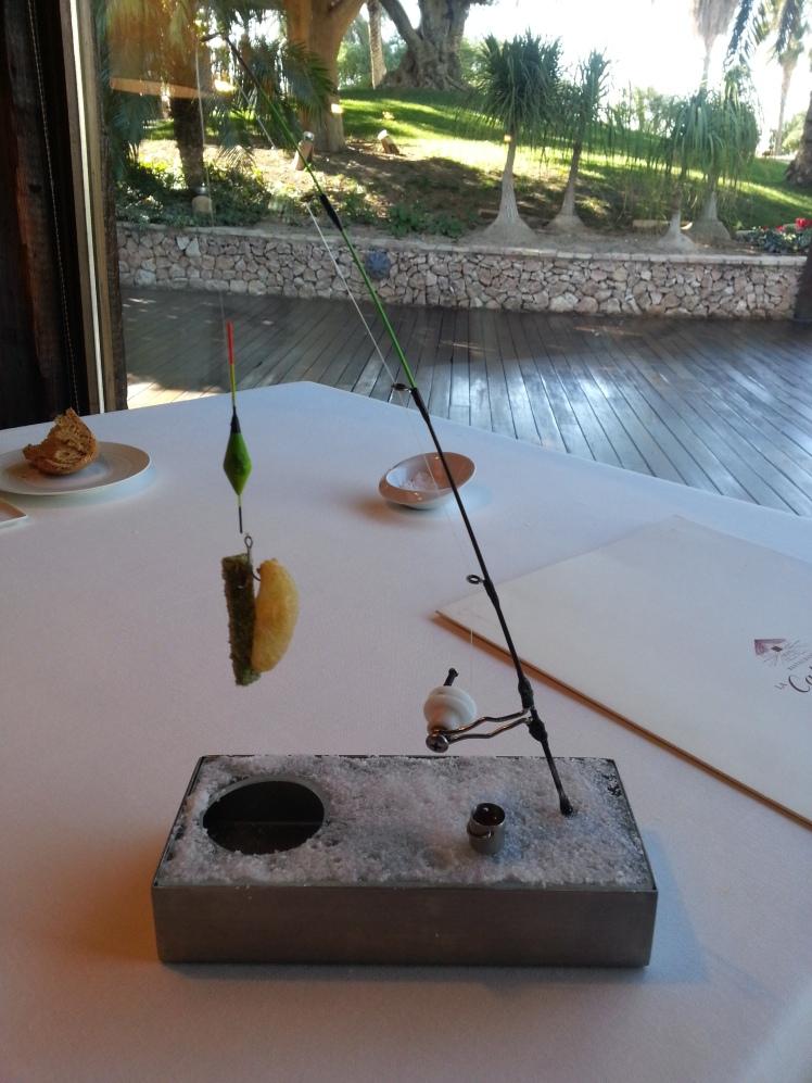 Pesca en el Polo em La Cabaña.