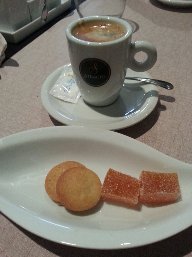 Café y minardises
