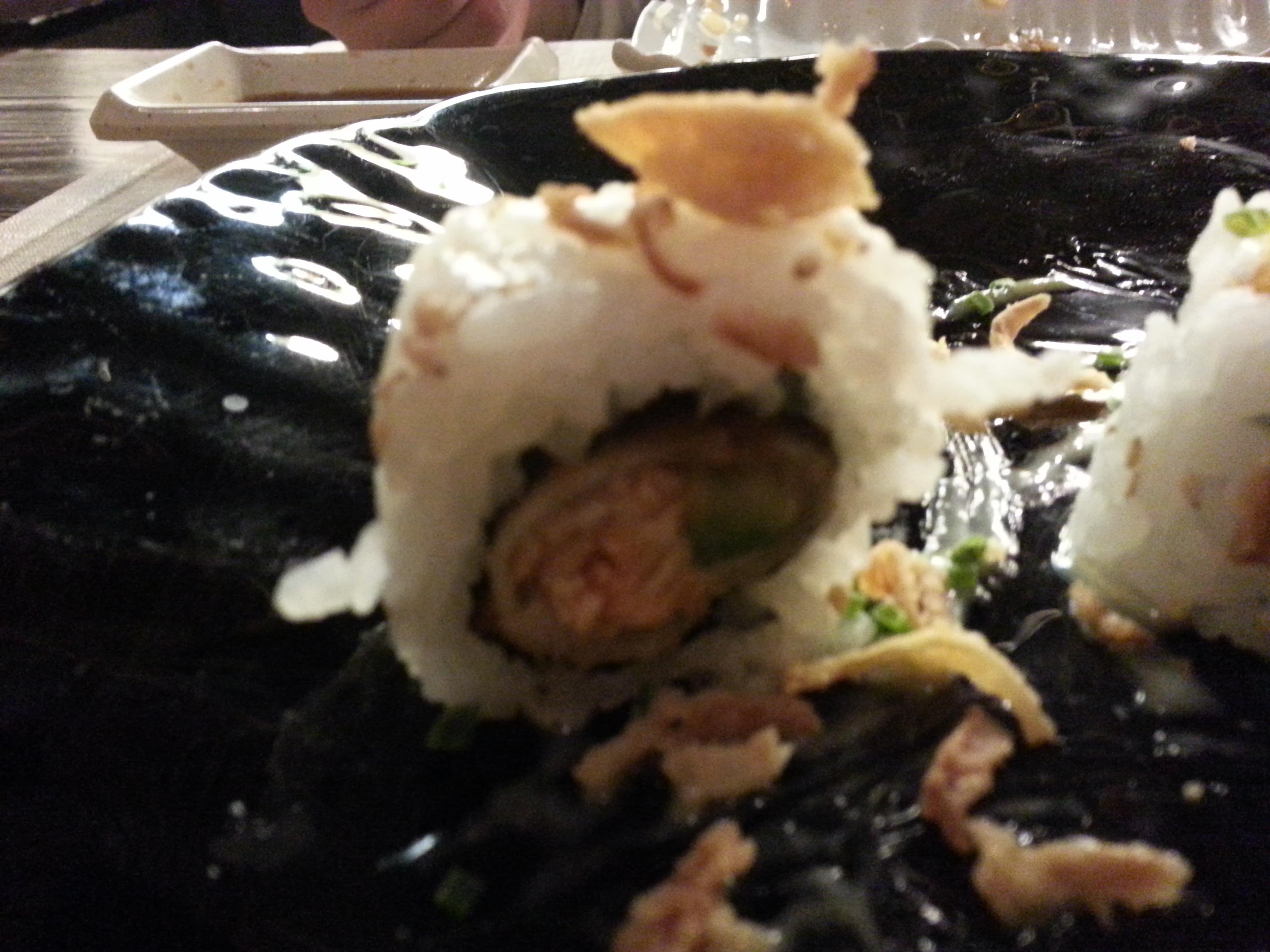 Crispy Roll de salmón y aguacate