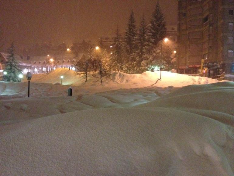 Baqueira nevada