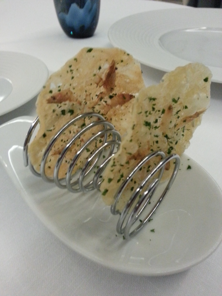Tortitas de camarones