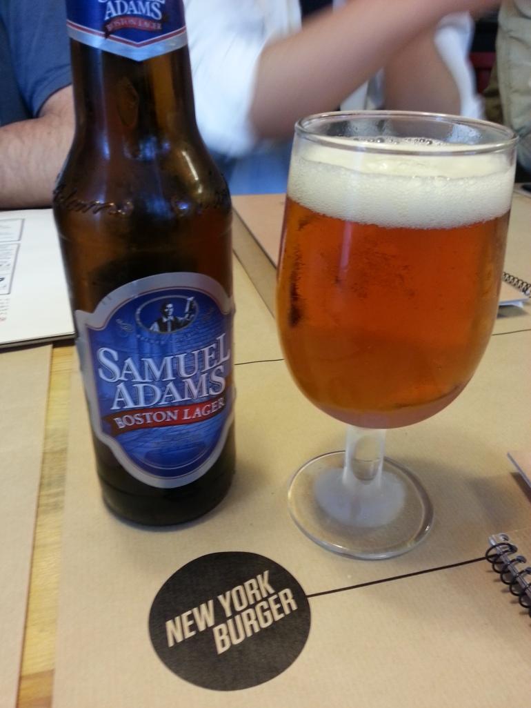 Samuel Adams bien fresca!