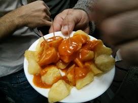 Patatas Bravas (foto de Patricia)
