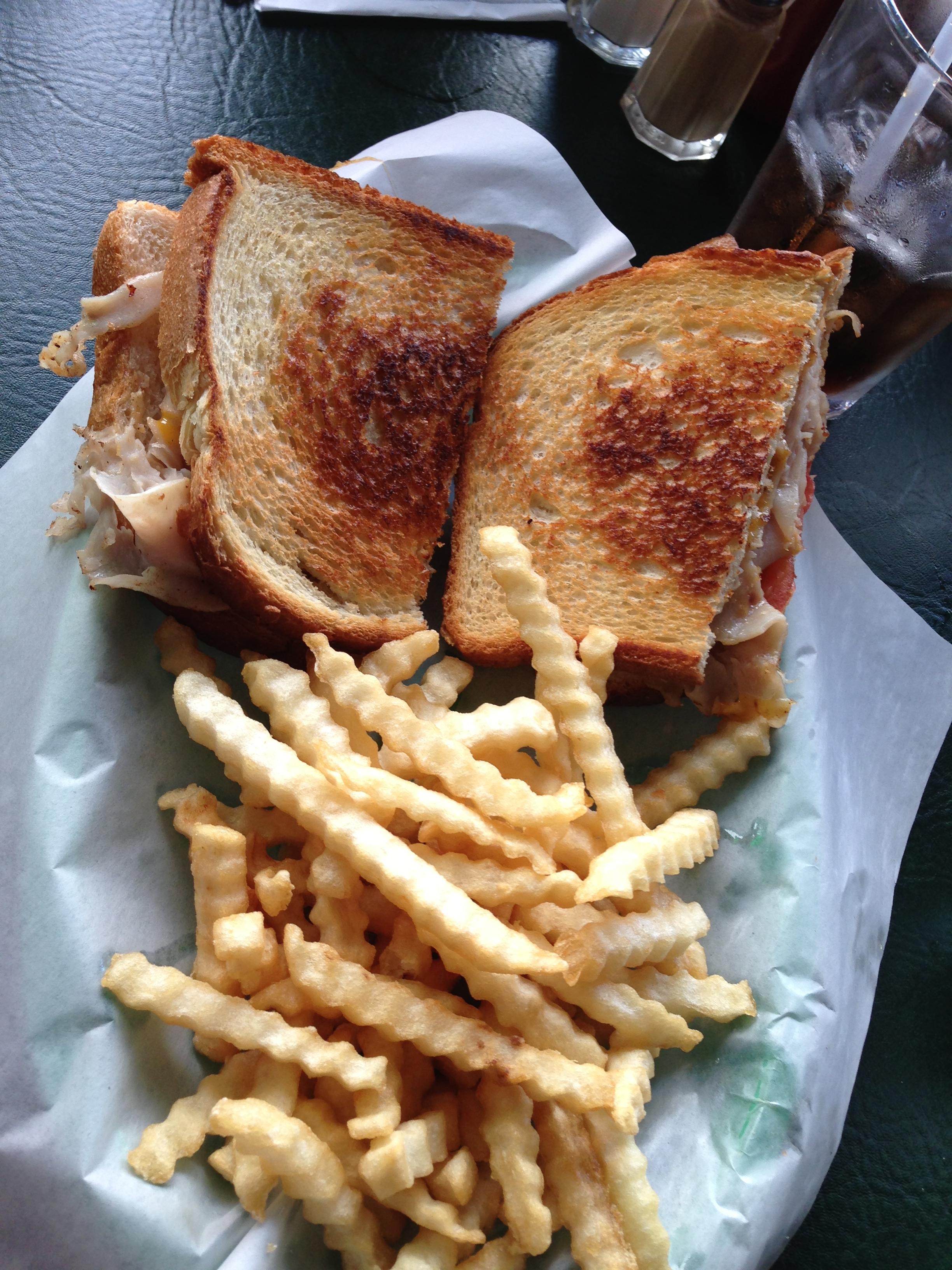 Sandwich de jamón y otros