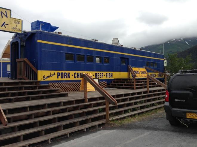 Restaurante en un vagón