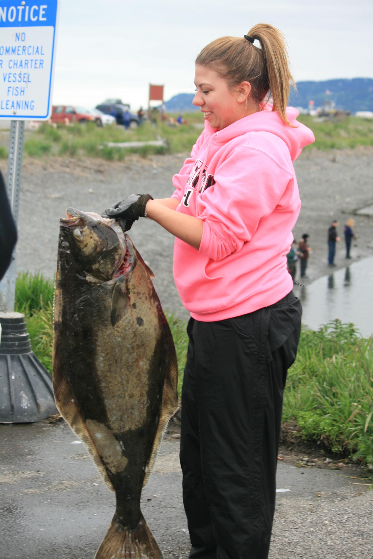 Halibut recién pescado!