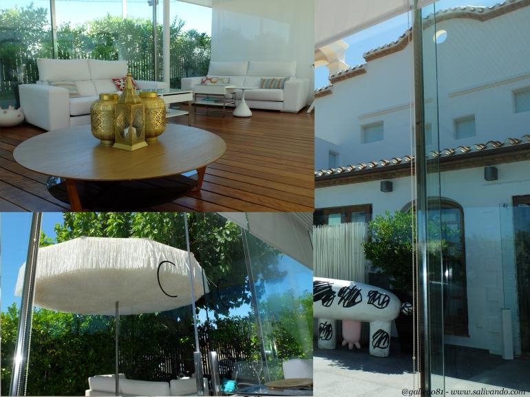 Fotos de la terraza
