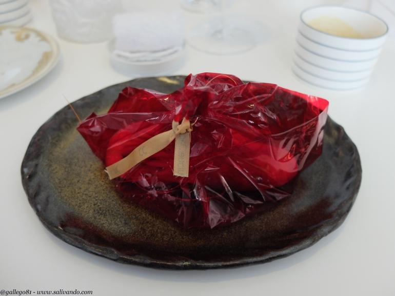 Presentación - Gamba roja de Dénia
