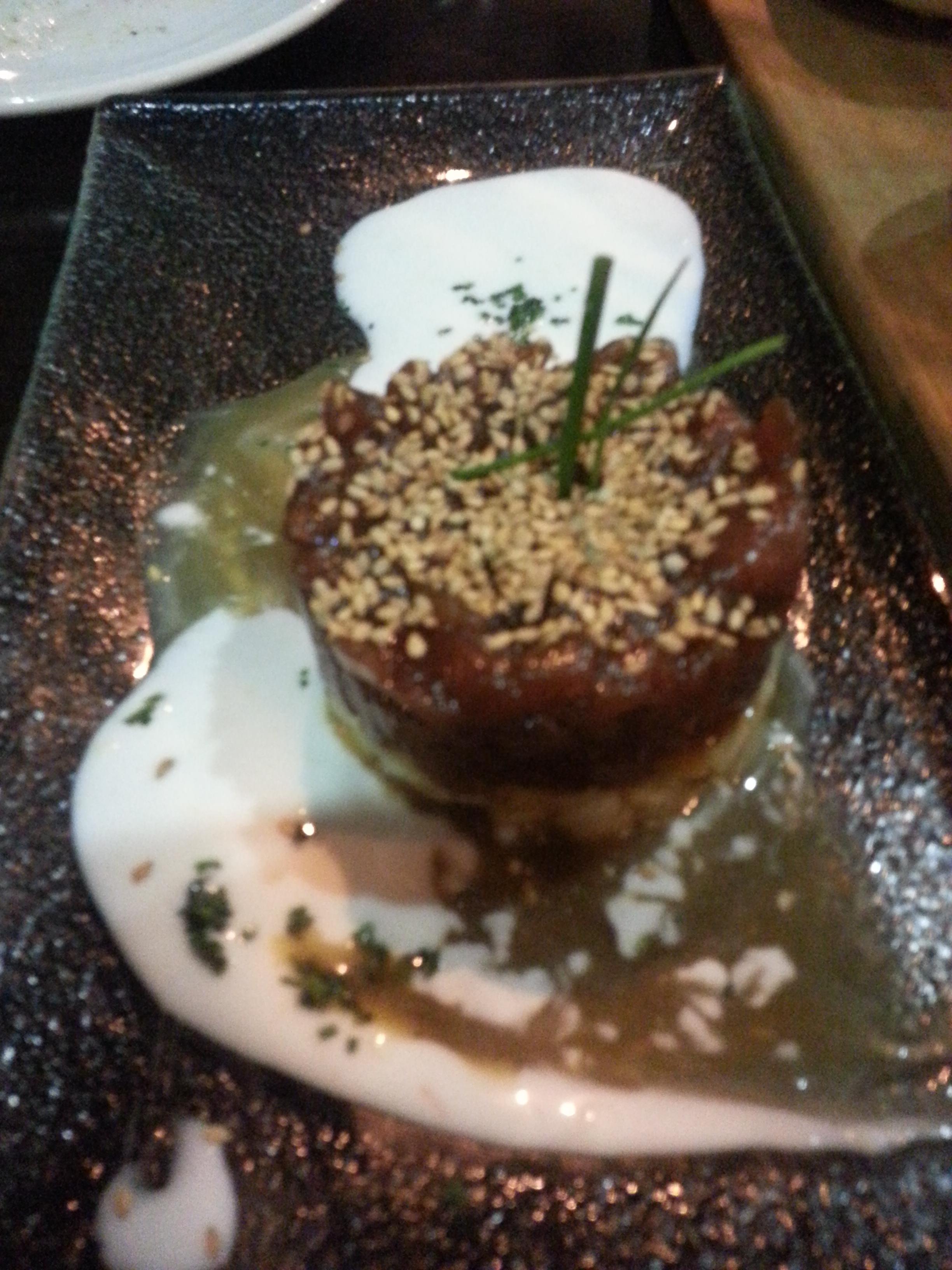 Tartar de atún - Restaurante Slow Montecarmelo