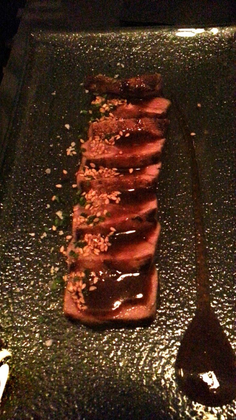 Tataki de atún - Restaurante Slow Montecarmelo