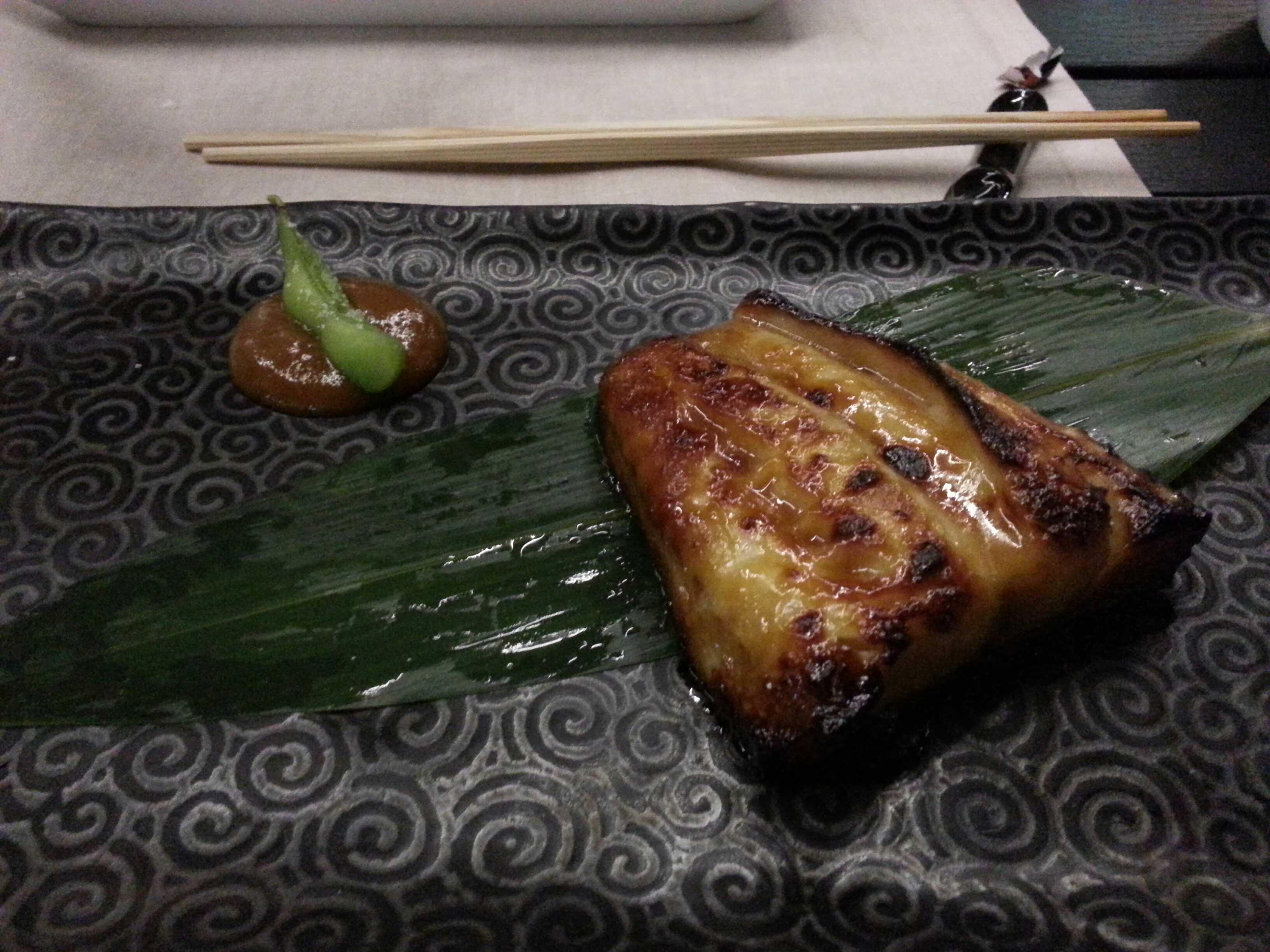 Restaurante 99 sushi bar - Bacalao Negro