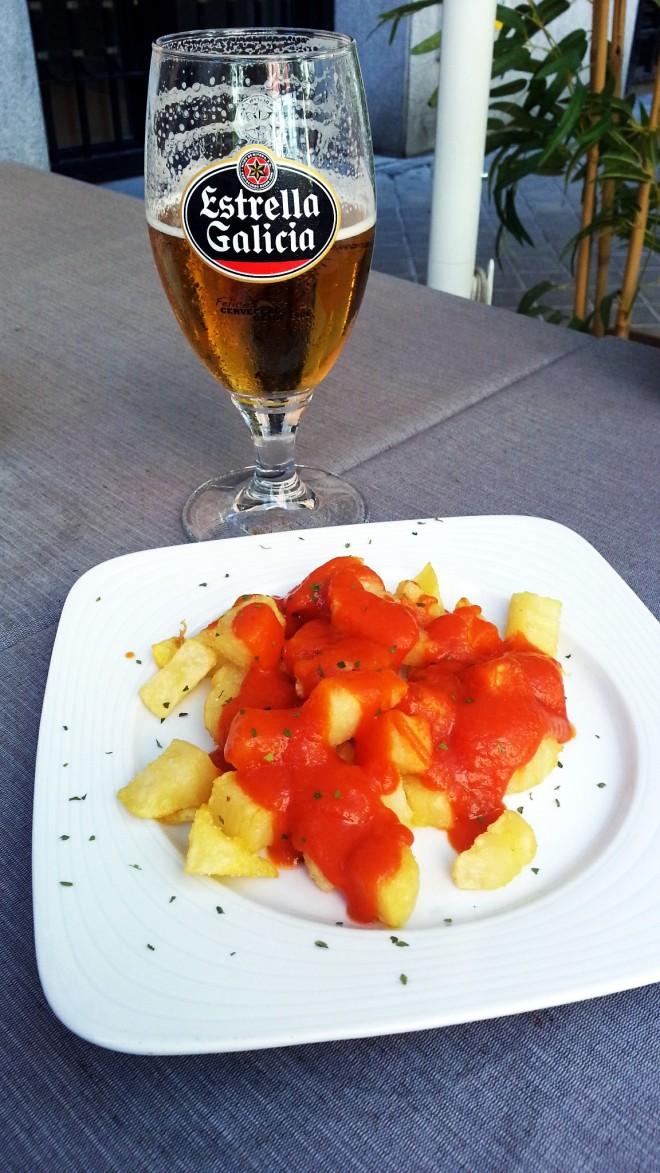 Restaurante Villa de Foz - Estrella de Galicia y Bravas