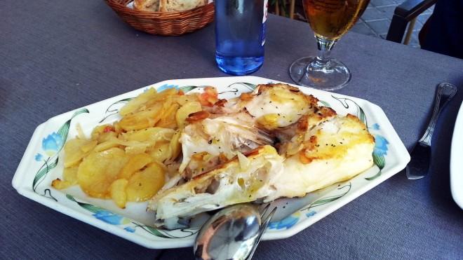 Restaurante Villa de Foz - Cogote de merluza al horno