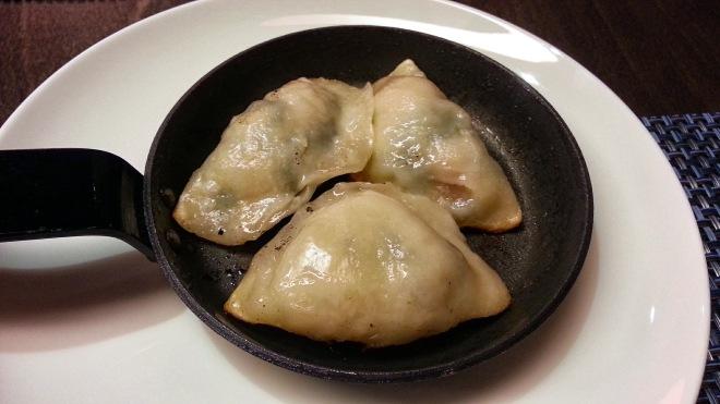 Tse Yang Dimsums Club - Dimsums de pollo y espinacas