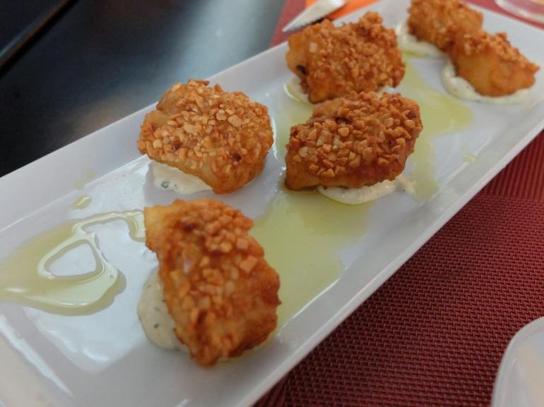 Restaurante Rick's - Nuggets de bacalao