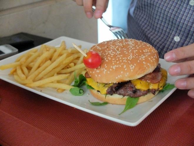 Restaurante Rick's - Hamburguesa Barbacoa