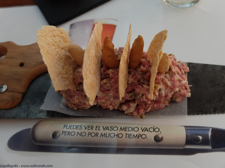 Restaurante Evboca - Steak tartare