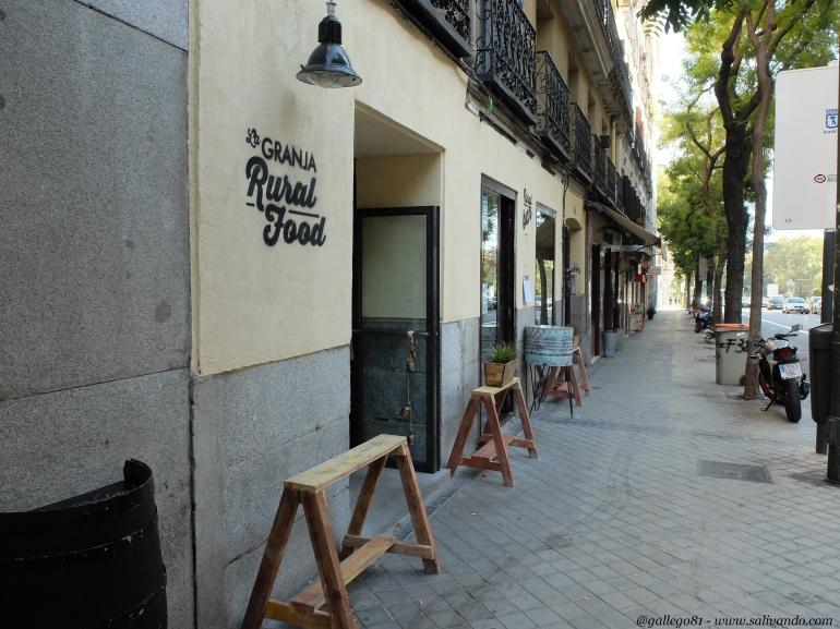 La Granja Rural Food - Fachada calle Ferraz