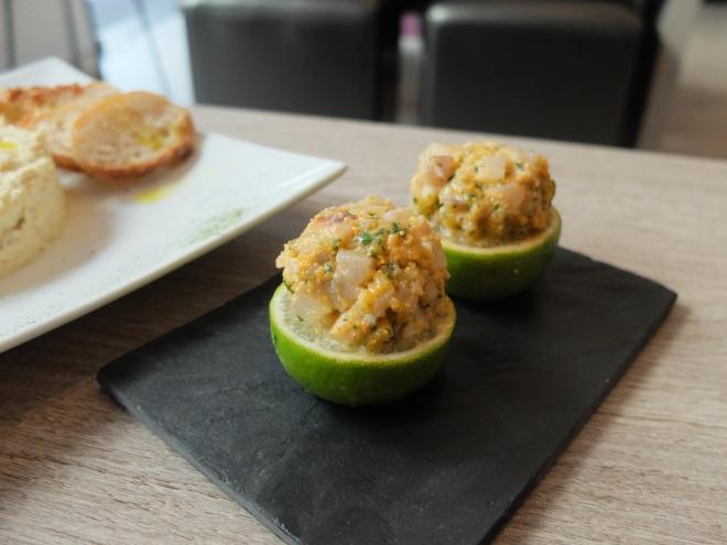 Restaurante Homemade - Tartar de lubina con lima