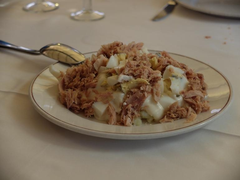 Restaurante Samm - Ensaladailla rusa