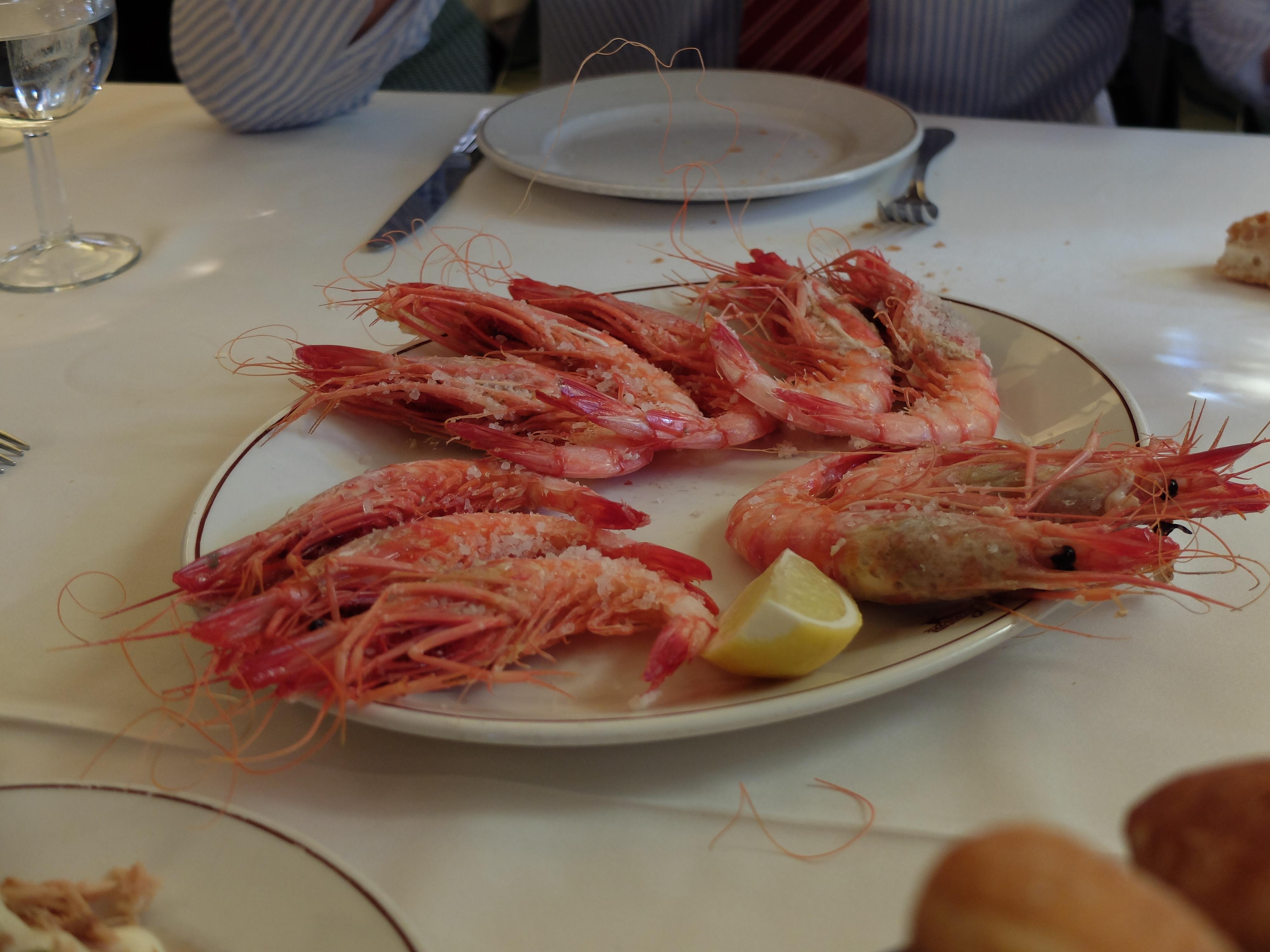 Restaurante Samm - Gamba roja de Denia