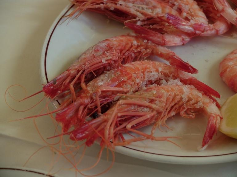 Restaurante Samm - Gamba Roja a la plancha