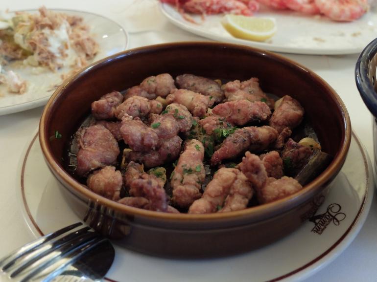 Restaurante Samm - Mollejas