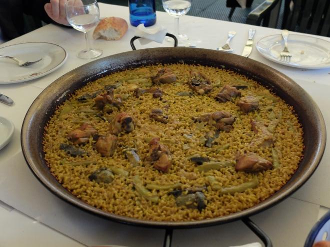 Restaurante Samm - Paella valenciana