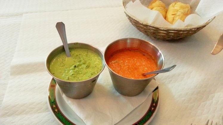 Restaurante Casa Mon - Mojos canarios