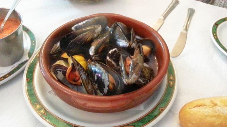Restaurante Casa Mon - Mejillones al vapor