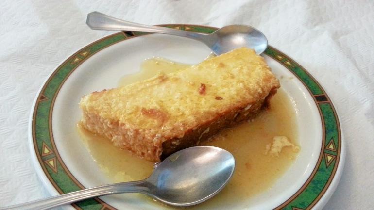 Restaurante Casa Mon - Quesillo canario