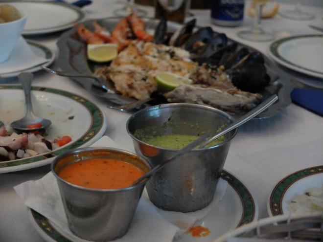 Restaurante Casa Mon - Mojo y cherne