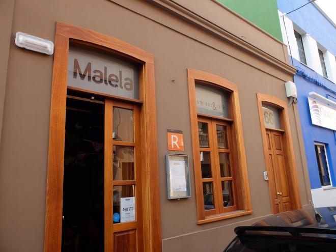 Restaurante Malela - Fachada