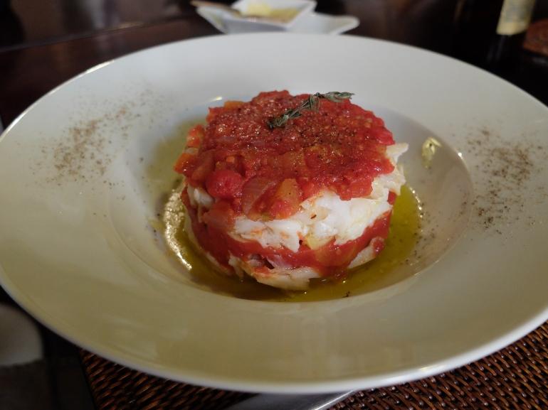 Restaurante Malela - Bacalao con tomate