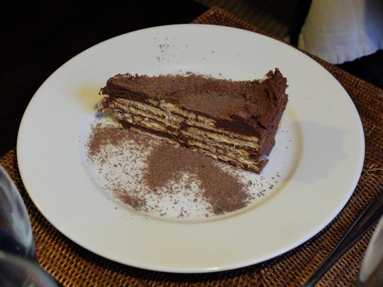 Restaurante Malela - Tarta de chocolate
