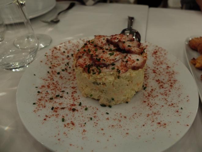 Restaurante El Apartamento - Ensaladilla Rusa