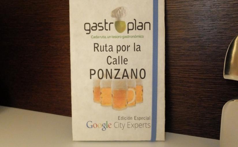 GastroPlan 1 – Cañas por la callePonzano
