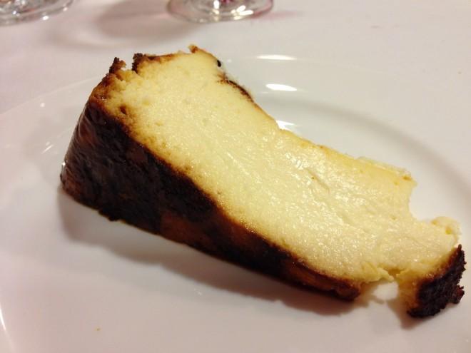 Tarta de queso (media porción)