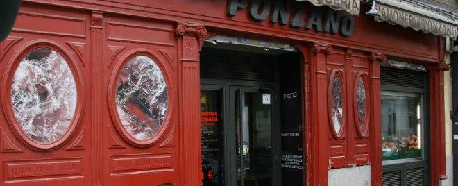 Fachada del restaurante Ponzano