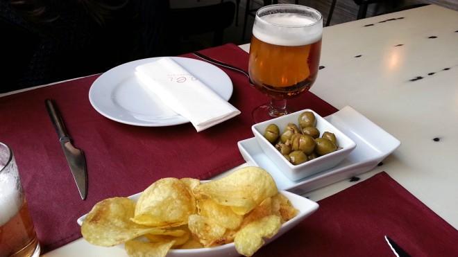 Restaurante ANEL - Cerveza y aperitivo