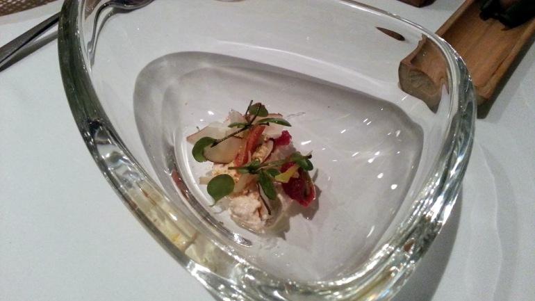 Restaurante Malabar - Queso de castaña