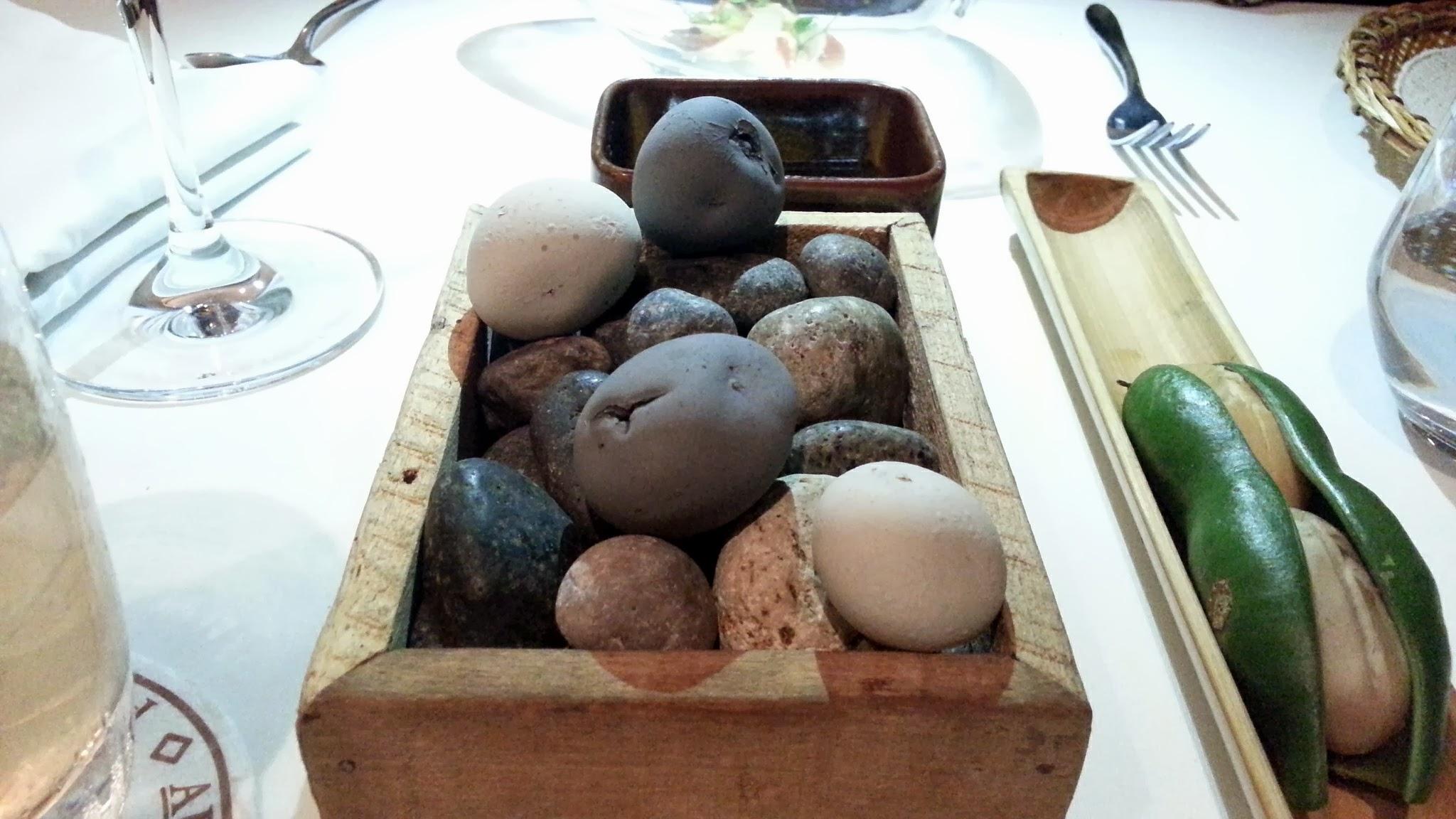 Restaurante Malabar - Piedras de patata